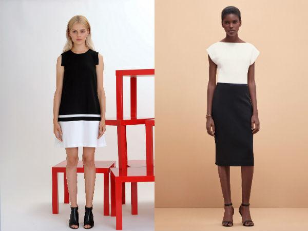 Модные цвета деловых платьев 2016