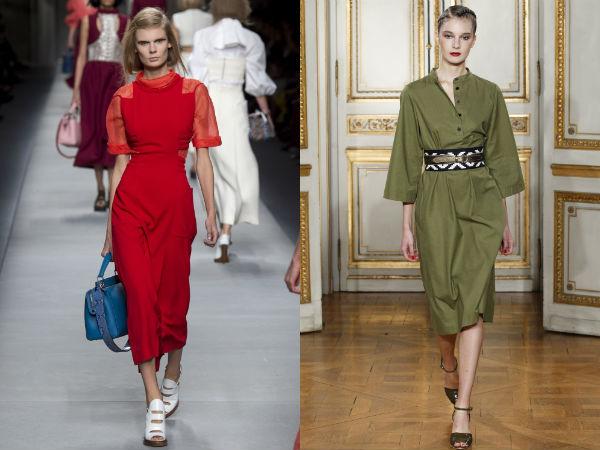 Модные офисные платья весна-лето 2016