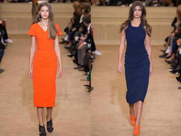 Модные офисные платья 2016