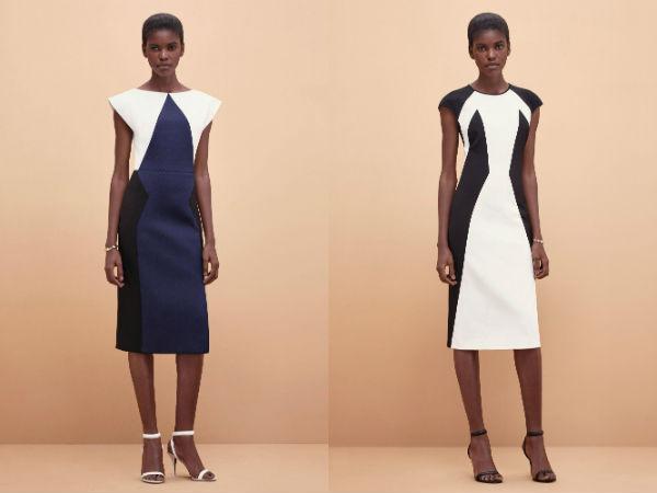 Модные платья футляры