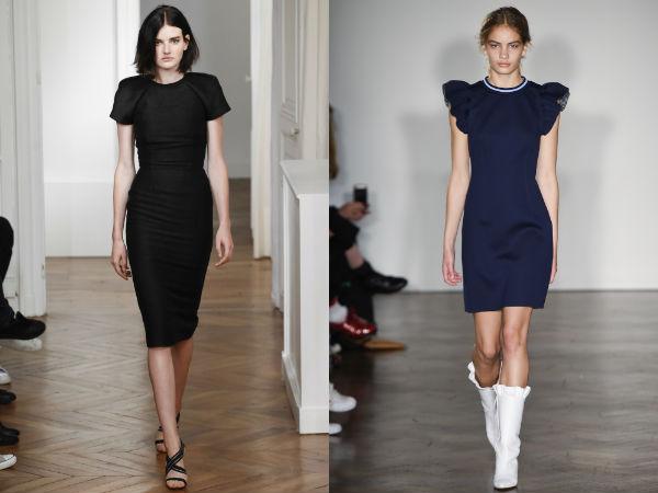 Платья-футляры 2016
