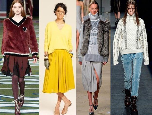 Модные Туники Зима Осень 2015 Доставка