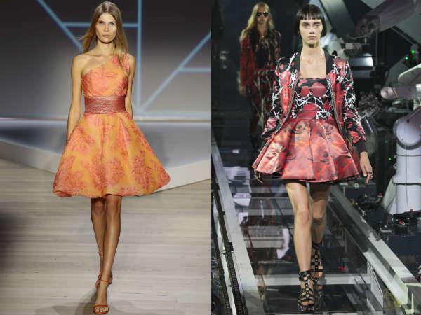 Платья с пышными юбками весна-лето 2016