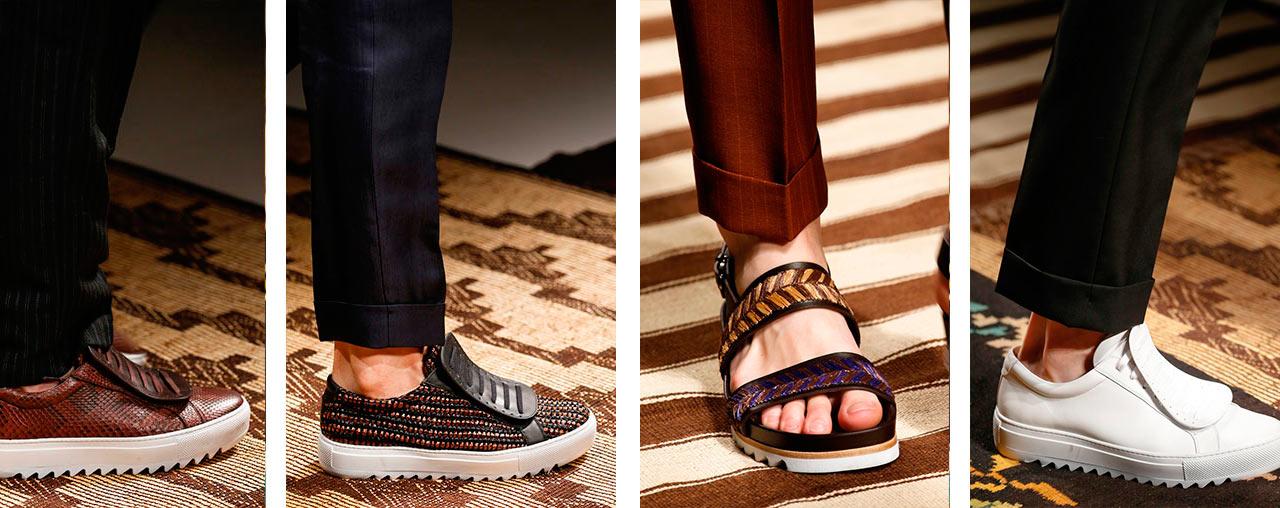 Модная мужская обувь весна лето 2017