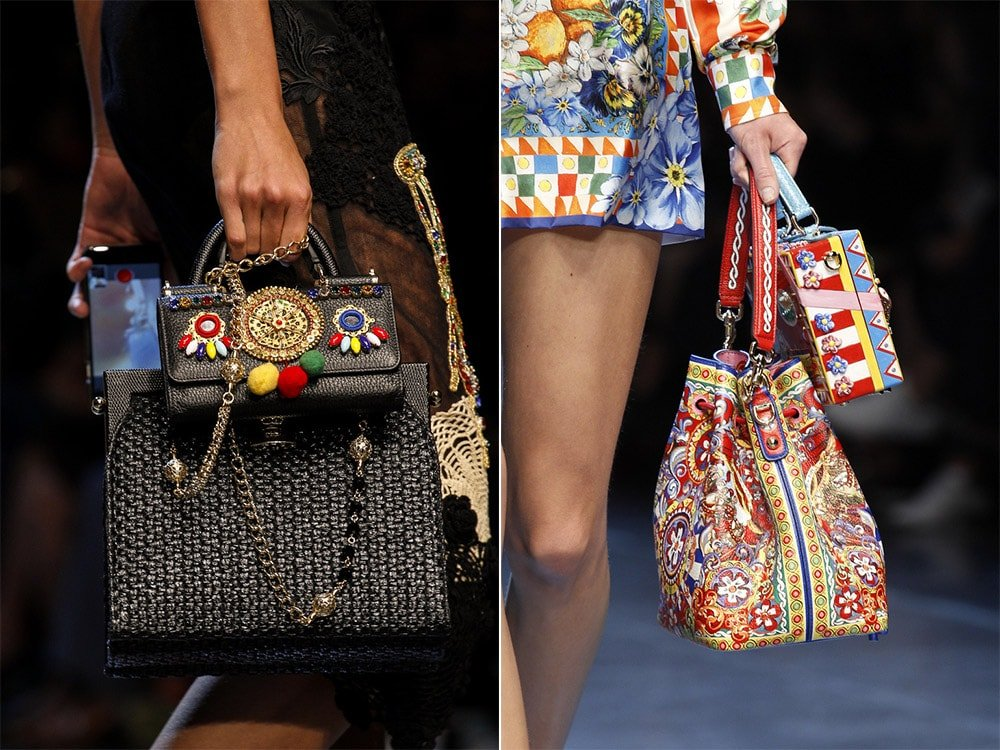 Модно носить две сумки одновременно 2016