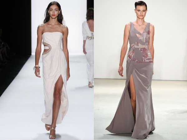 Платья с вырезами весна-лето 2016