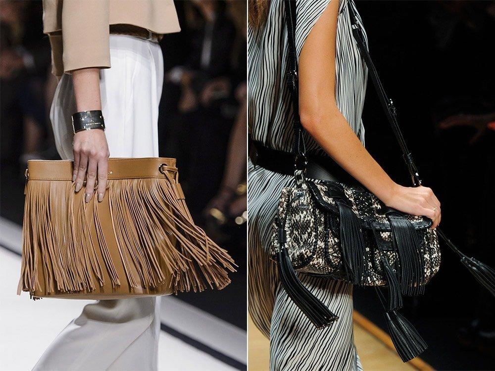 Модные сумки с бахромой весна-лето 2016