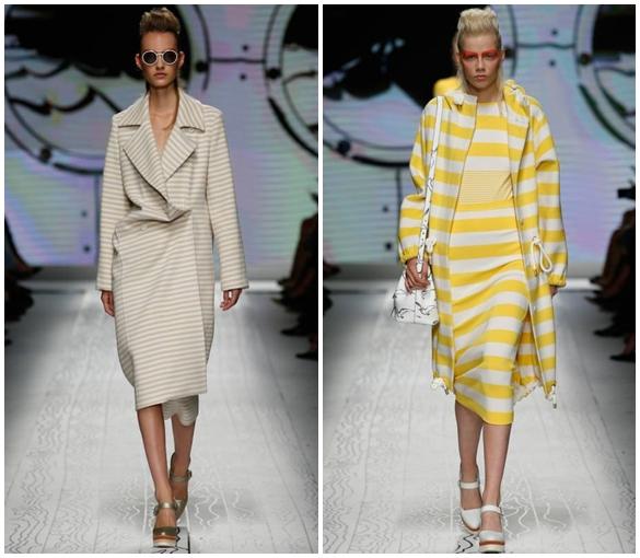 Пальто в стиле тотал лук весна-лето 2016