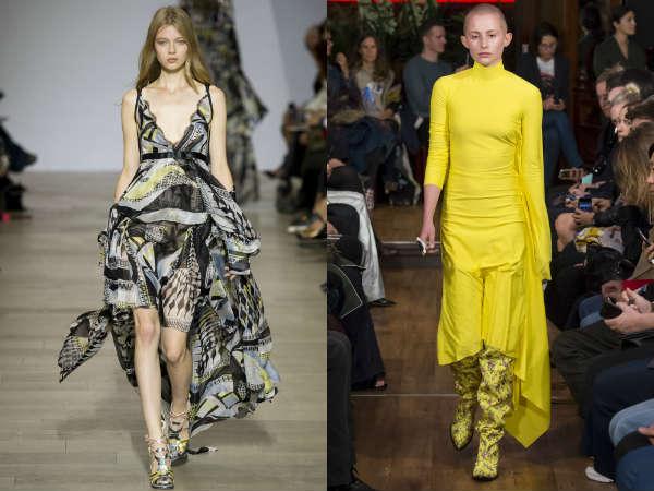 Модные платья маллет весна-лето 2016