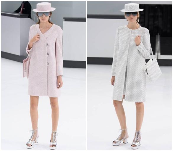 Пальто в ретро стиле весна-лето 2016