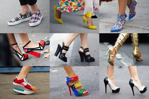 Женская обувь лето 2016