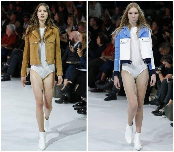Куртки из комбинированных материалов 2016