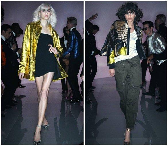 Женские куртки из блестящих материалов