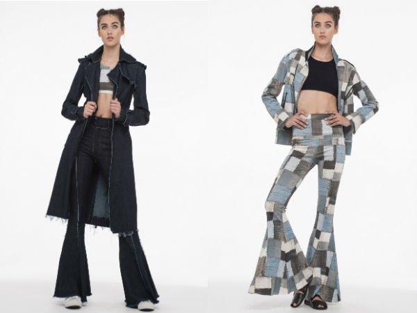 Расклешенные джинсы весна-лето 2016