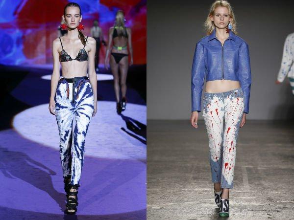 Модные женские джинсы весна-лето 2016