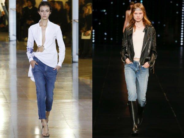 Классические джинсы весна-лето 2016