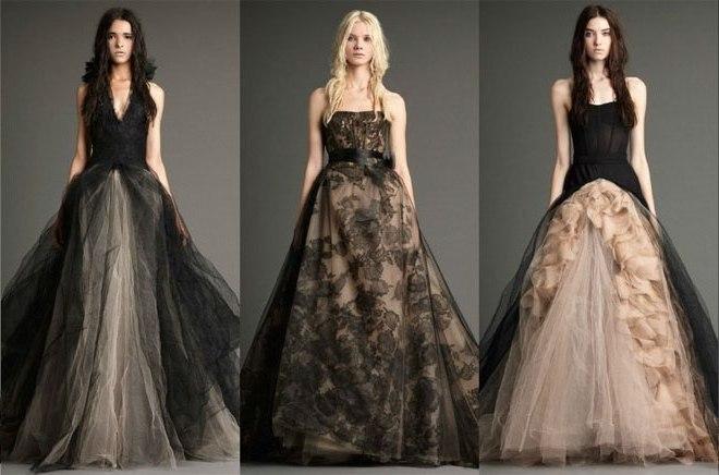 Платья необычный цветов
