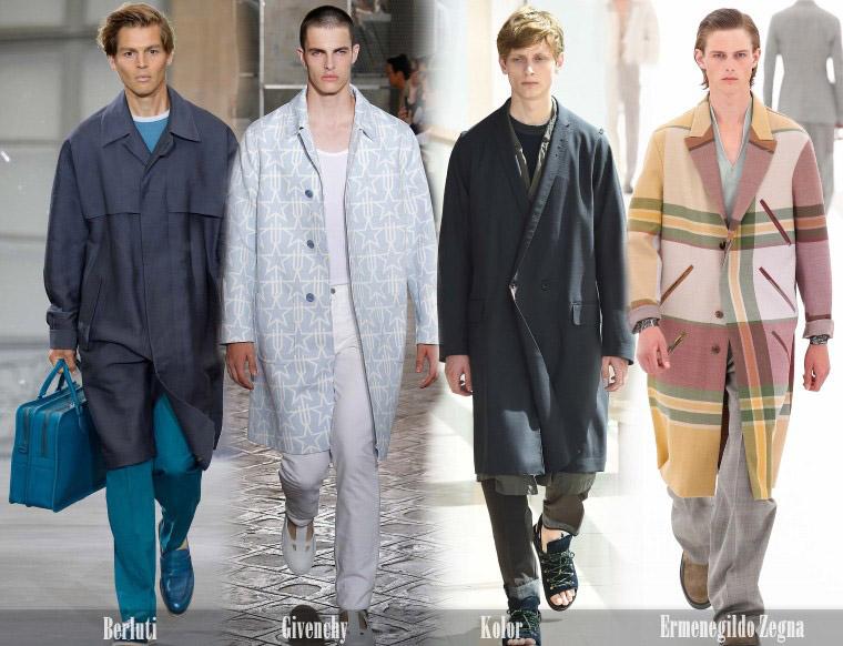 Мужские пальто в стиле oversize