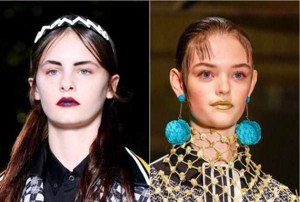Модные цвета губной помады 2016