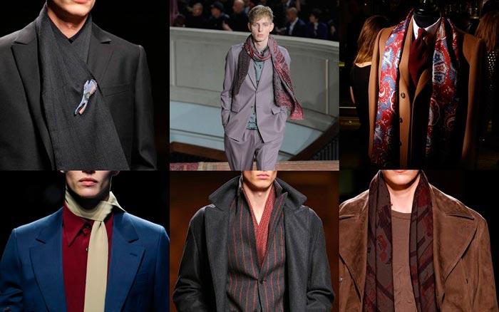 Виды и способы ношения шейных платков