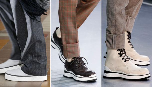 Мужская обувь в спортивном стиле осень-зима 2016-2017