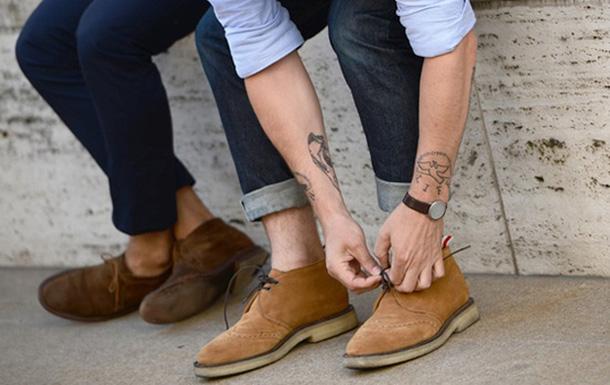 Мужская замшевая обувь осень-зима 2016-2017