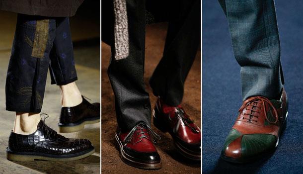 Модные мужские туфли осень-зима 2016-2017