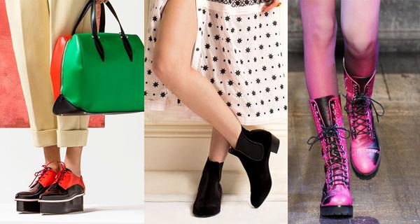 Модные женские ботинки осень 2016