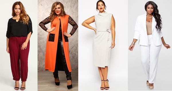 Модная одежда для полных женщин 2018 лето