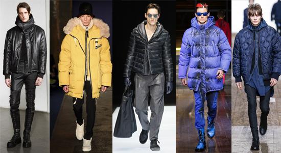 Дутые куртки