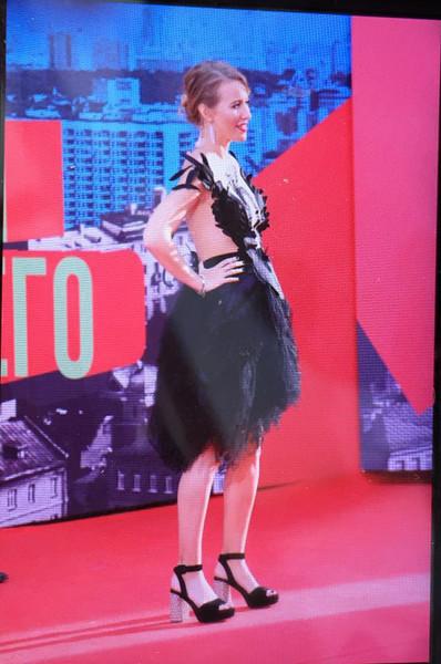 Ксения Собчак на Премии Муз-ТВ 2016