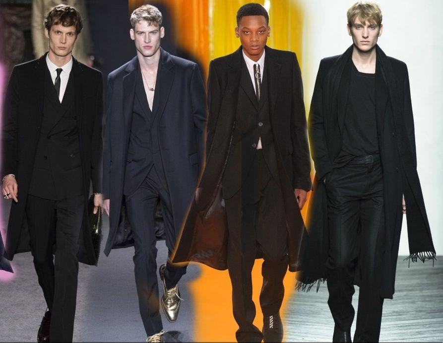 Классическое мужское пальто