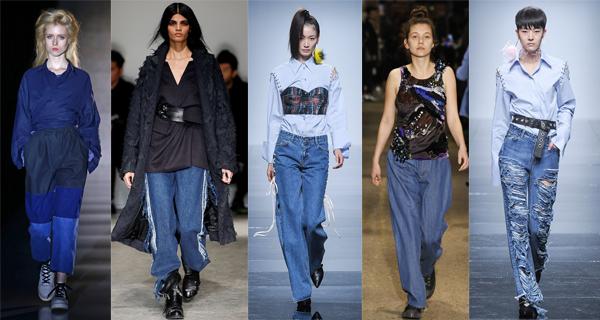 Модные женские джинсы осень-зима 2016-2017