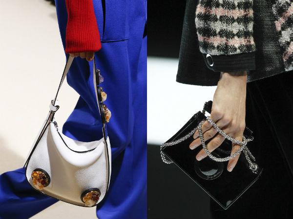 Декор модных сумок осень-зима 2016-2017