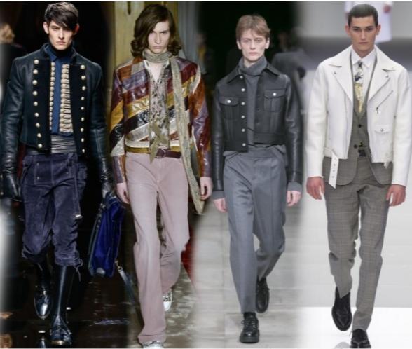 Укороченные мужские куртки
