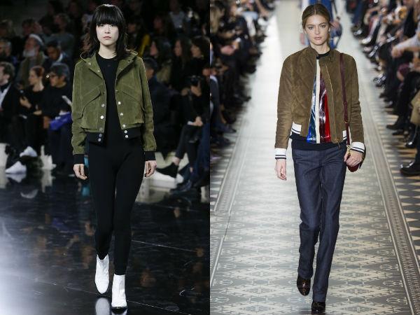 Женские куртки бомберы
