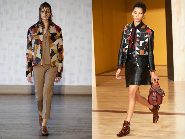 Женские куртки с геометрическим принтом