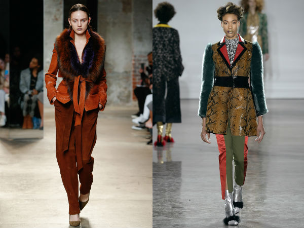 Женские куртки с меховыми рукавами