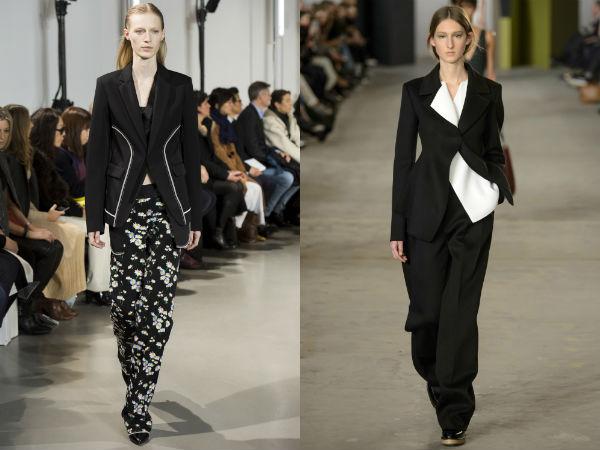 Женские пиджаки в стиле минимализм осень-зима 2016-2017