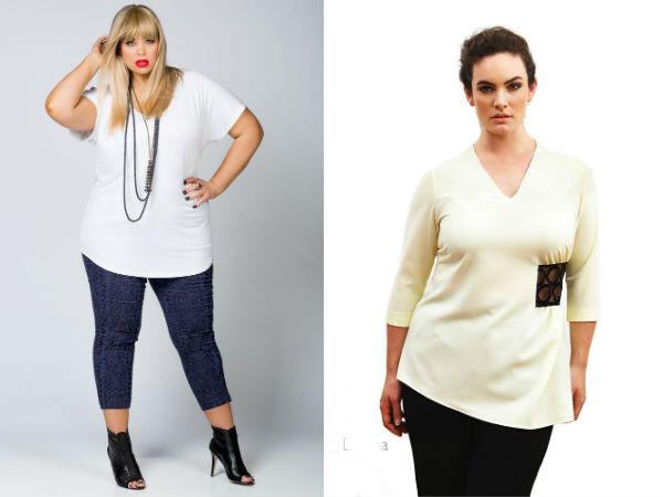 Женские белые блузки больших размеров