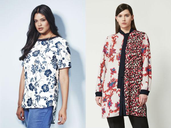 Женские блузки с цветочным принтом