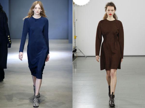 Модные деловые платья