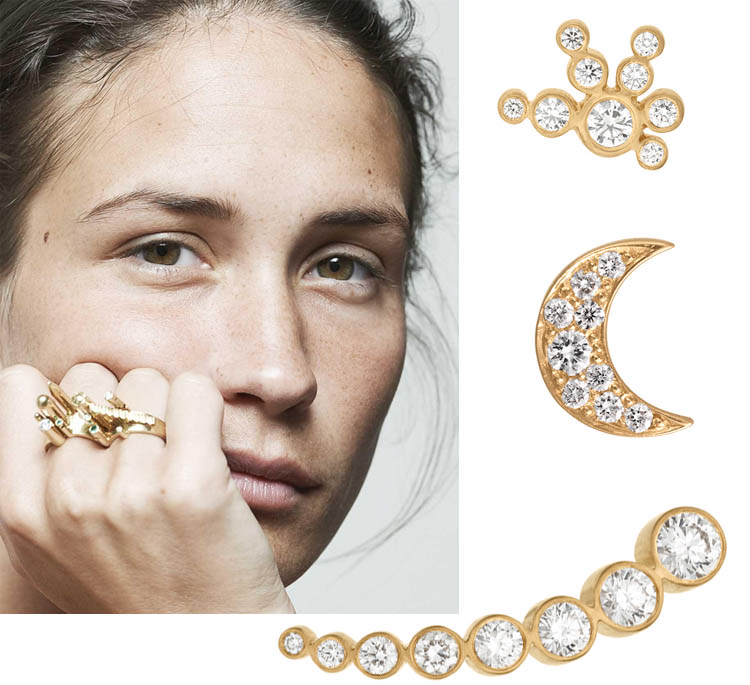 Двойные золотые кольца 2017