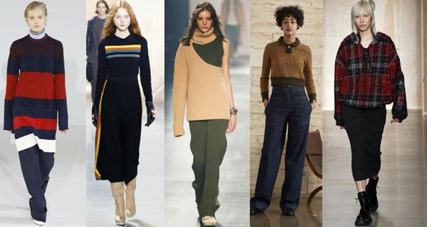 Модные женские свитера осень-зима 2016-2017