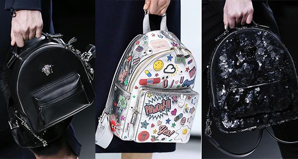 Модные рюкзаки осень-зима 2016-2017