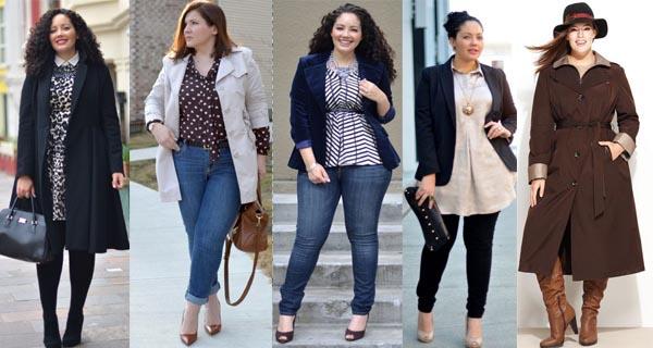 Верхняя одежда для полных женщин осень-зима 2016-2017