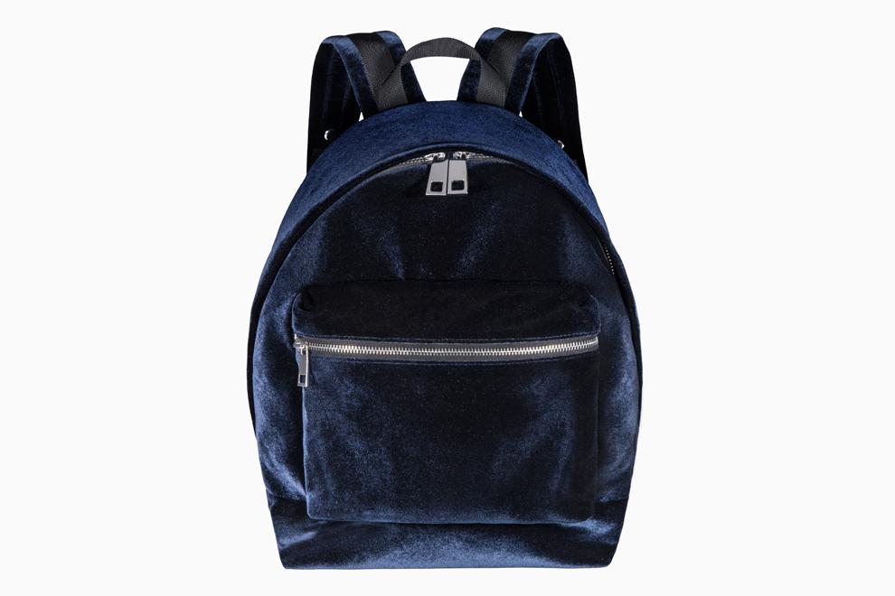 Бархатный рюкзак от Sandro