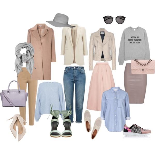 Базовый гардероб осень 2016