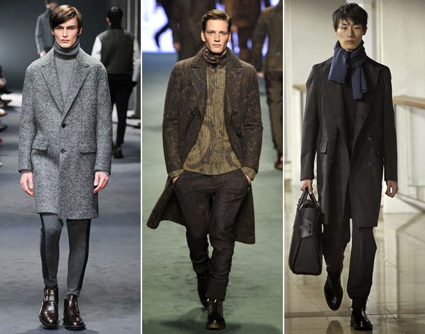 Мужское кашемировое пальто 2016-2017