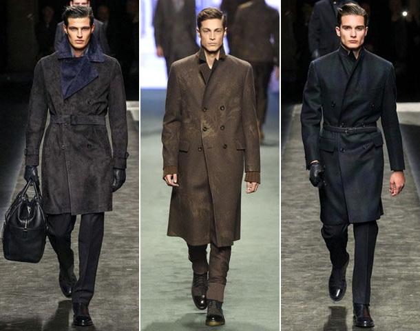 Модные мужские кашемировые пальто 2016-2017